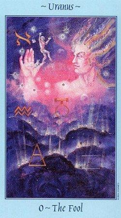 tarot card celestial fool 250x448