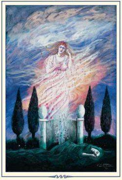 mnemosyne greek goddess 250x368